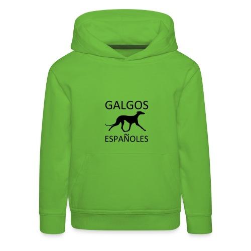 Galgo español - Kinder Premium Hoodie