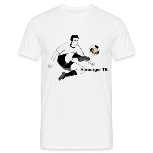 Shirt Fussballspieler - Männer T-Shirt
