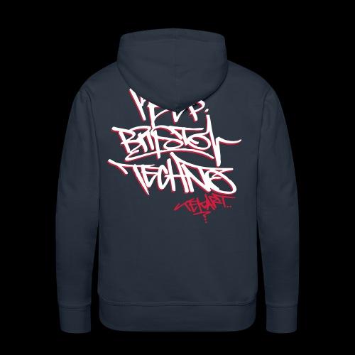 KEEP BRISTOL TECHNO HOODIE [ltd tekart tag design] - Men's Premium Hoodie