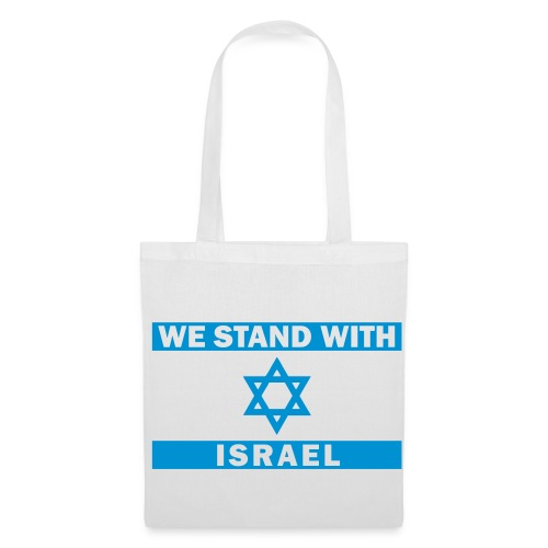 WE STAND WITH ISRAEL - Stoffbeutel