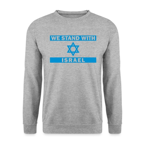 WE STAND WITH ISRAEL - Männer Pullover