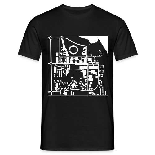 Campus Map - T-Shirt - T-shirt herr