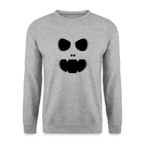 Ghost Monster Face Puserot - Männer Pullover