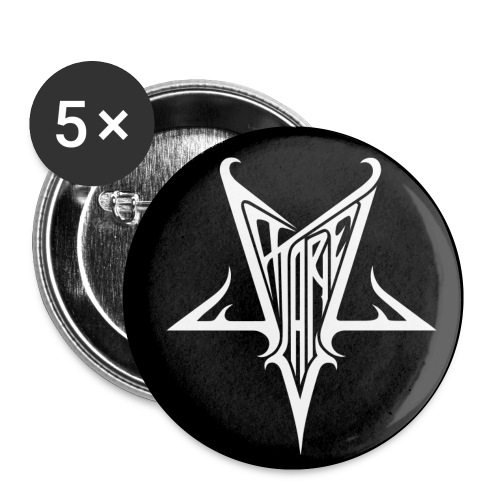 Pentagram Buttons - Buttons small 1''/25 mm (5-pack)