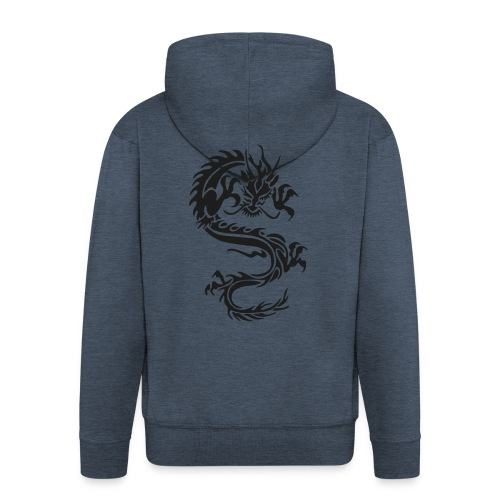 Dragon - Männer Premium Kapuzenjacke