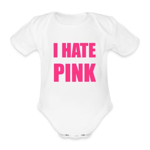 Body bébé I Hate Pink - Body bébé bio manches courtes