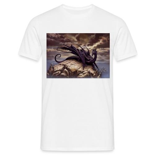 Ciruelo Dark Dragaon - Men's T-Shirt
