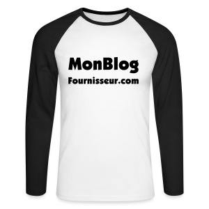 Blog Perso - T-shirt baseball manches longues Homme
