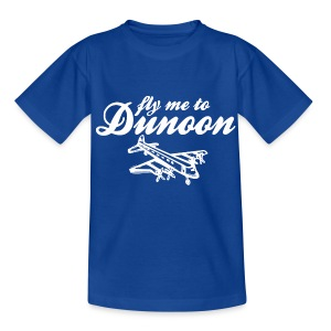 Fly me to Dunoon - Teenage T-shirt