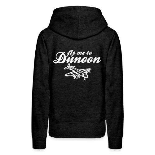 Fly me to Dunoon - Women's Premium Hoodie