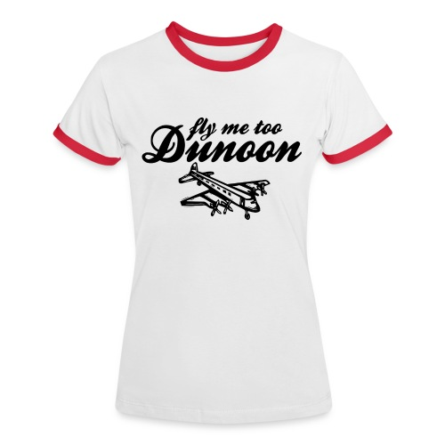 Fly me to Dunoon - Women's Ringer T-Shirt