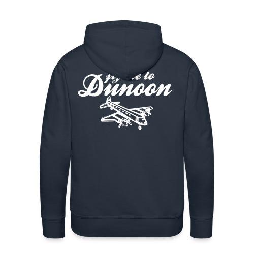 Fly me to Dunoon - Men's Premium Hoodie