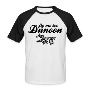 Fly me to Dunoon - Men's Baseball T-Shirt
