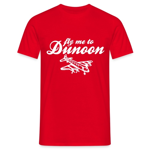 Fly me to Dunoon - Men's T-Shirt