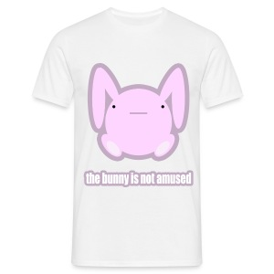 The Bunny is Not Amused - Men's T-Shirt