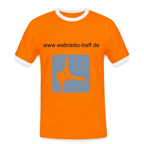 BreakDanceShirt - Männer Kontrast-T-Shirt