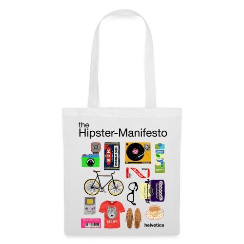 HIPSTER-MANIFESTO BAG - Borsa di stoffa
