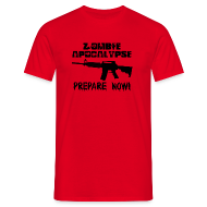T-Shirts ~ Men's T-Shirt ~ ZOMBIE APOCALYPSE