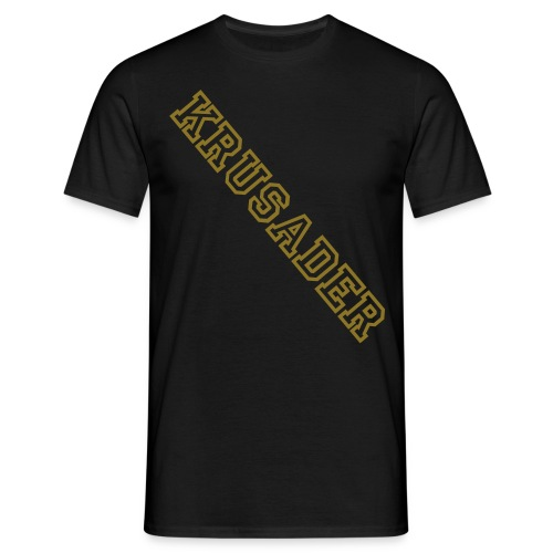 Krusader Gold Support  - Männer T-Shirt