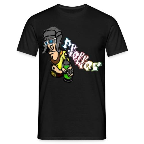 schwarzweißpartyshirt_pfeffer - Männer T-Shirt