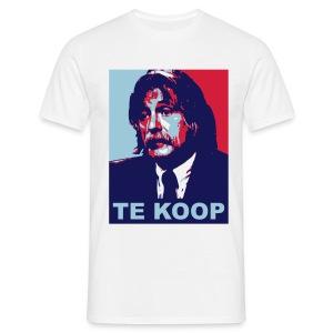 Johan Derksen - Te Koop - Mannen T-shirt