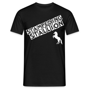 STAMPEDING STALLION - Men's T-Shirt