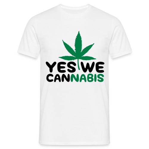 Yes We Cannabis T-Shirt - Mannen T-shirt