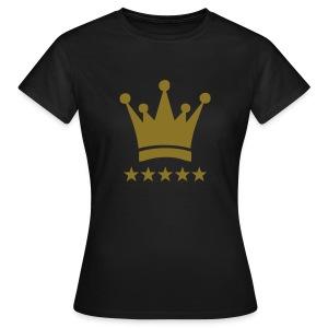 KING CROWN - Vrouwen T-shirt