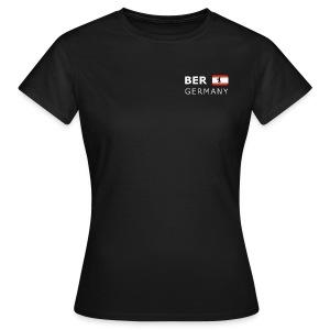 Women's T-Shirt BER GERMANY BF white-lettered - Women's T-Shirt