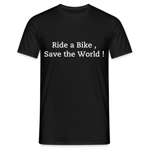 Ride a bike ... - T-shirt Homme
