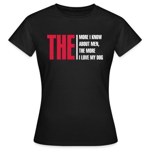 DoggyW1 - Frauen T-Shirt