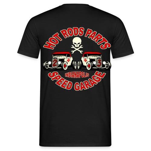 t-shirt hot rods parts - Men's T-Shirt
