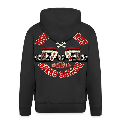sweatshirt hot rods parts - Men's Premium Hooded Jacket