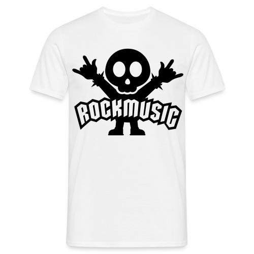 RockMusik T-shirt - T-shirt herr
