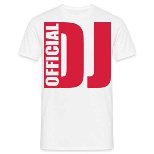 DJ T-shirt - T-shirt herr