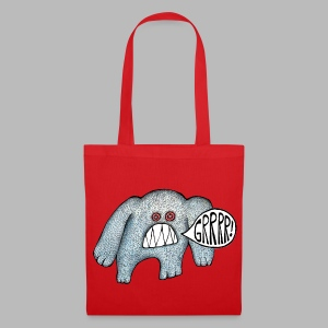 with added GRRRR!!! - Tote Bag