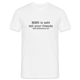 MMR is Safe - Tell Your Friends - Black Text ~ 4