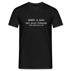 MMR is Safe - Tell Your Friends - White Text ~ 4