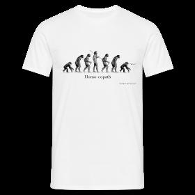 Homo-eopath T-Shirt by Twm Davies ~ 4