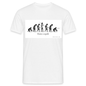 Homo-eopath T-Shirt by Twm Davies - Men's T-Shirt