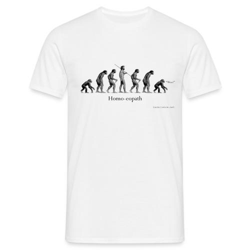 Homo-eopath T-Shirt by Twm Davies - Men's T-Shirt
