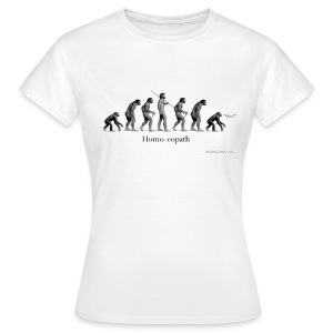 Homo-eopath T-Shirt by Twm Davies - Women's T-Shirt