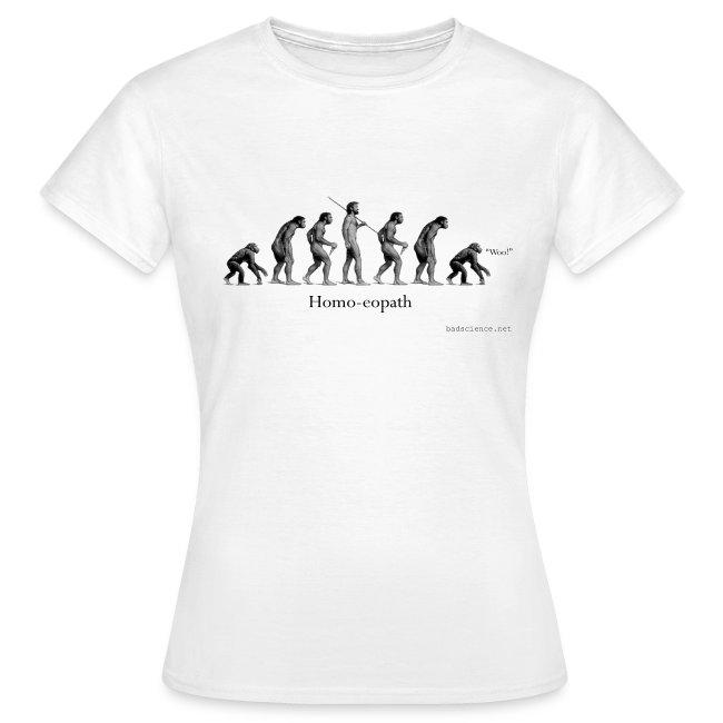 Homo-eopath T-Shirt by Twm Davies