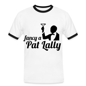 Fancy a Pat Lally - Men's Ringer Shirt