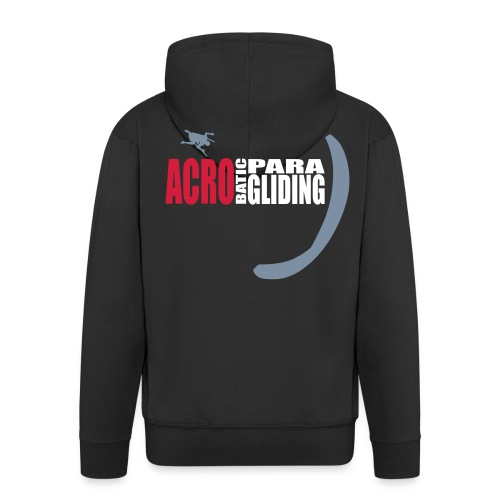 acrobatic paragliding - Männer Premium Kapuzenjacke