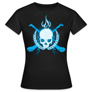 Skull & Hurleys Electric Blue - Women's T-Shirt