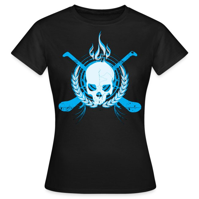 Skull & Hurleys Electric Blue
