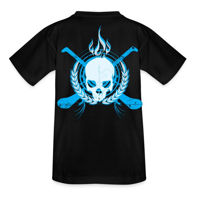 Skull & Hurleys Electric Blue