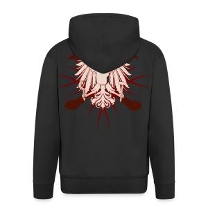 Eagle & Crossed Hurleys - Men's Premium Hooded Jacket