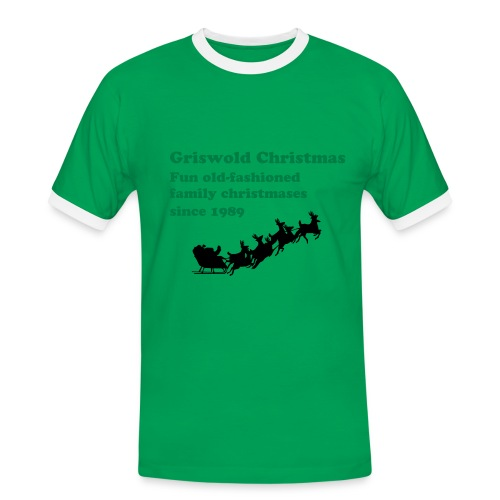 Griswold family christmas - men - Men's Ringer Shirt